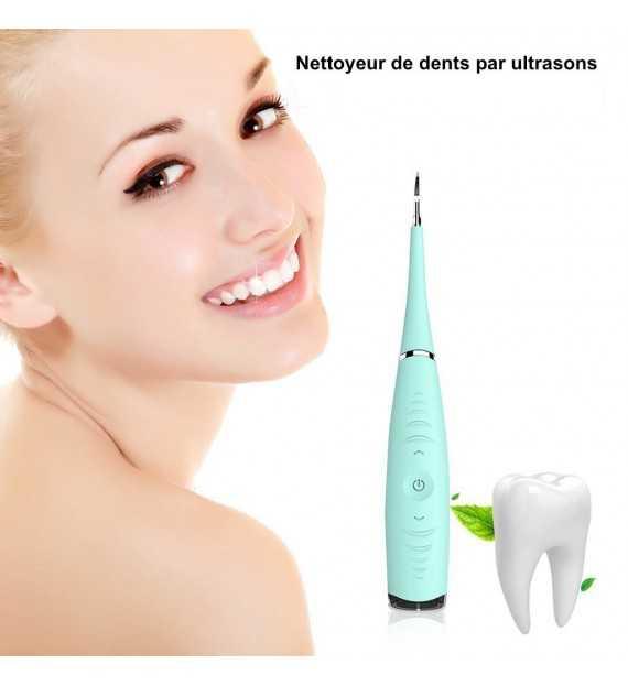 Appareil Détartrage Ultrason - Kit d'outils pour enlever le tartre dentaire