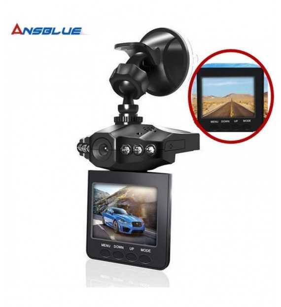 Caméra enregistreur conduite video pour voiture - Caméra voiture vision nocturne HD