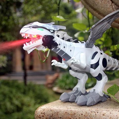 Dragonsaure le jouet dragon électrique qui crache du feu